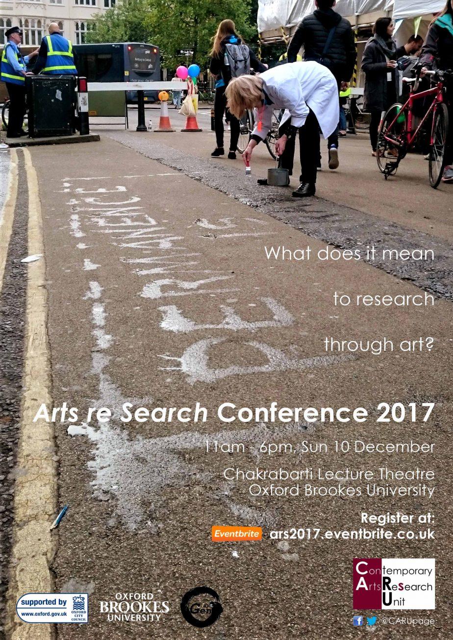 CARU | Arts re Search Annual Conference 2017